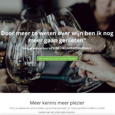 Volg je wijncursus bij SVBE-wijnprofessionals